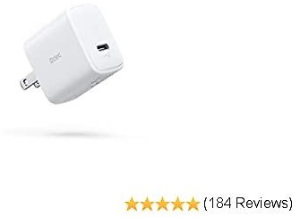 USB C Charger 18W Odec IPhone Fast Charger with Foldable Plug Compact PD Charger Adapter Type C Wall Charger Power Delivery 3.0 for IPhone 11 Pro Max SE, IPad, AirPods, Pixel 4 XL, LG V50, Galaxy S10