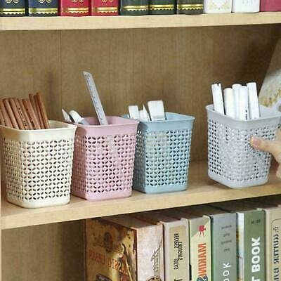 Desk Organizer 1Pc Plastic Pen Holder Stationery Office P7Z9 Container E2D7