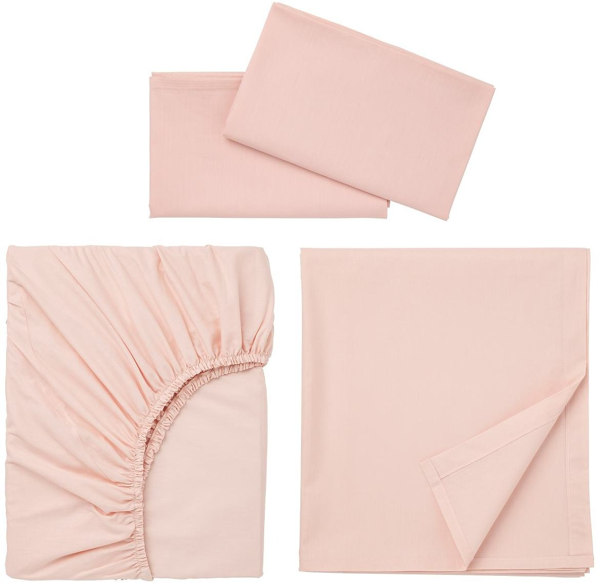 DVALA Sheet Set, Light PinkQueen