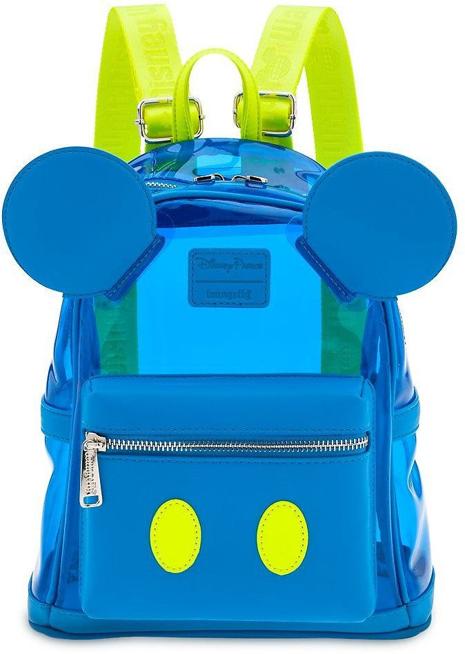 Mickey Mouse Neon Mini Backpack By Loungefly, Walt Disney World