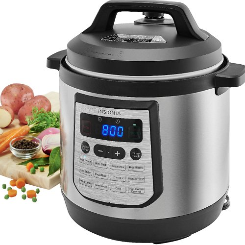 8-Qt Insignia Digital Multi Cooker + F/S