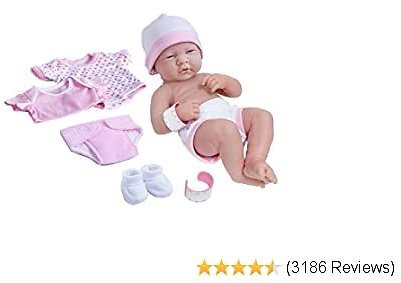 Today Only La Newborn Nursery 8 Piece Layette Baby Doll Gift Set