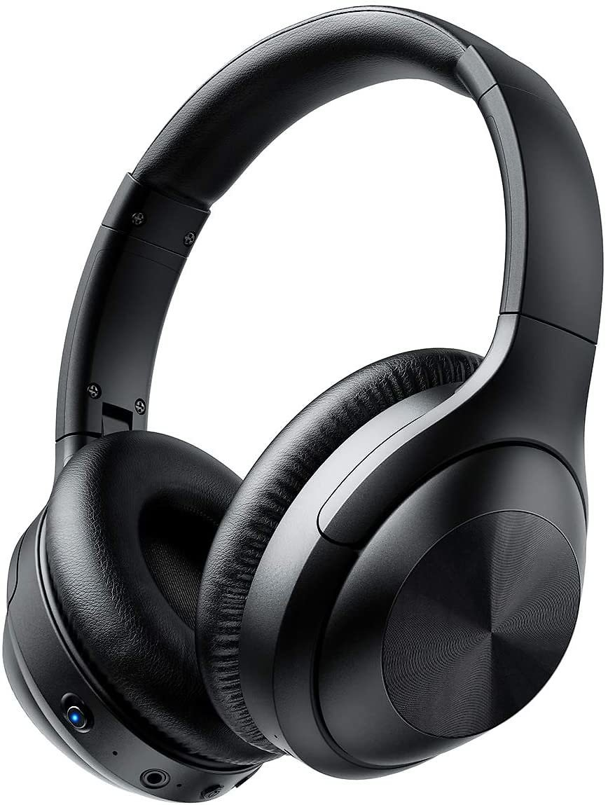37% Discount - ITeknic Bluetooth Headphones with Microphone Deep Bass (30 Hours Playtime for TV Travel Work Cellphone)