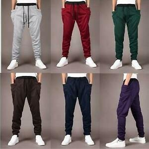 Fashion Men's Slim Fit Sport Pants Gym Running Joggers Gym Sweatpants Trousers