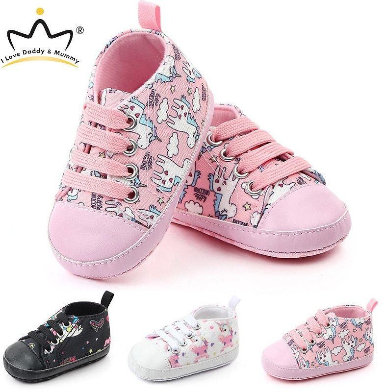 US $6.7 |New Cute Unicorn Baby Shoes Sneakers Soft Bottom Anti Slip Children Toddler Shoes Baby Boy Girl Shoes Girls First Walkers|First Walkers| - AliExpress