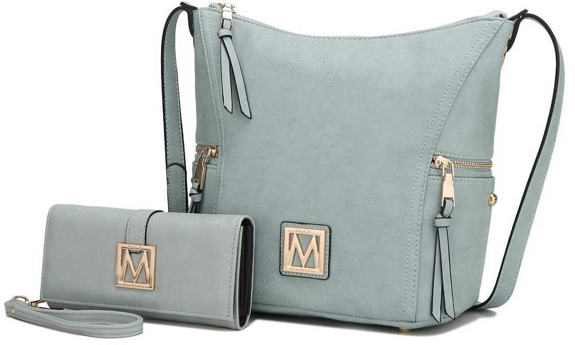 MKF Collection Lux Hobo Bag and Wallet By Mia K.