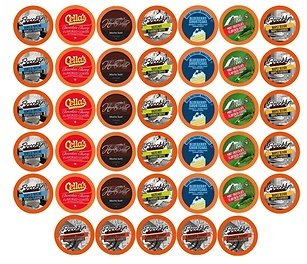 Best of The Best Flavored Coffee Variety Sampler for K-Cup Brewers (40-Ct.)