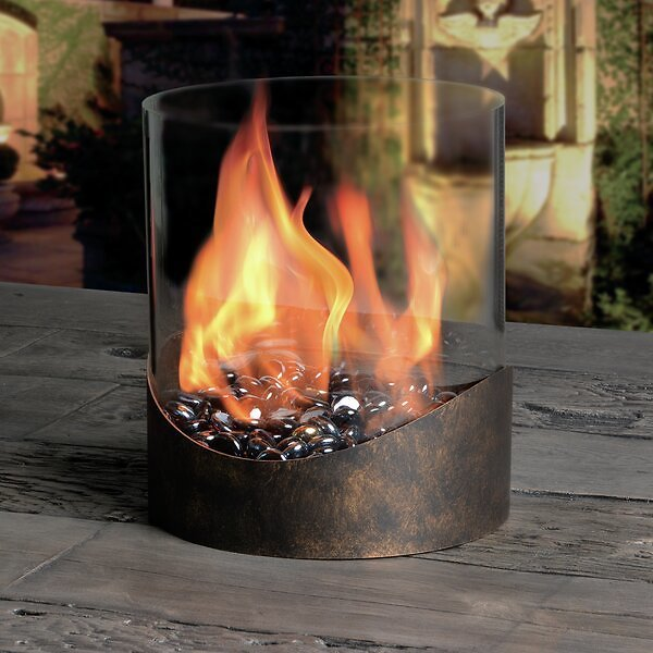 Tabletop Fireplaces & Outdoor Heating Savings