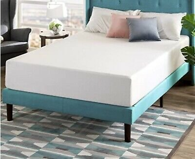 "Zinus King Size 12"" Memory Foam Pressure Relief Green Tea Mattress 10yr Warranty"