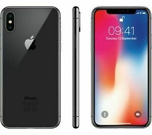 Apple IPhone X - 64GB - Factory GSM Unlocked T-Mobile AT&T 4G LTE- Space Gray