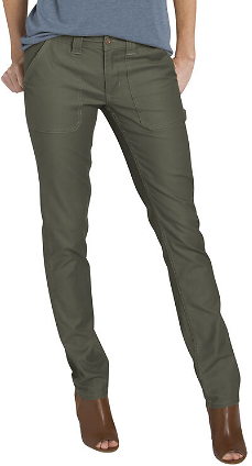 Women's Heritage Stonewashed Duck Jeans , Stonewashed Moss Green | Dickies