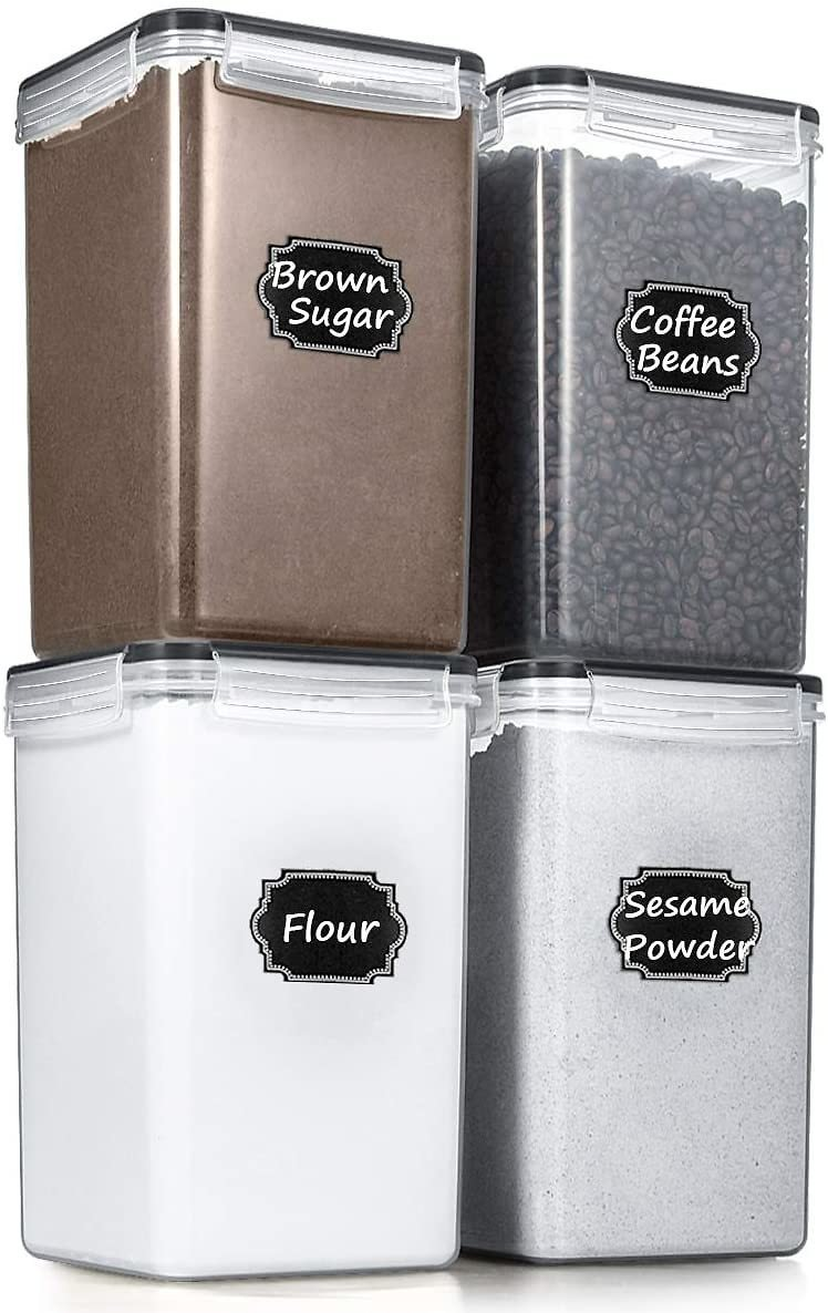 Airtight Food Storage Containers - Set of 4