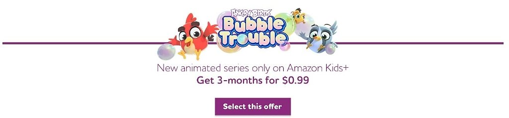 3-month Family Plan for of Amazon Kids+ (formerly FreeTime Unlimited)