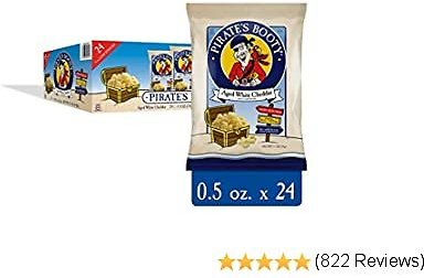 24-Pack Pirate's Booty Cheese Puffs