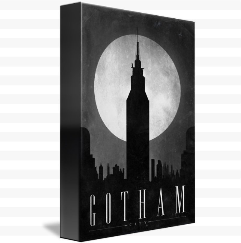 Gotham By Justin Van Genderen (Mult Sizes)