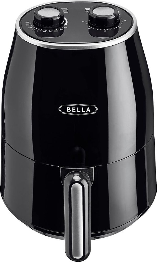 Bella 1.6-Qt Analog Air Convection Fryer