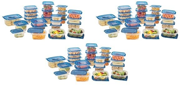 150-Piece Storage Container Set - Free Shipping