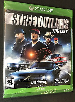 Street Outlaws [ The List ] (XBOX ONE) NEW 856131008107