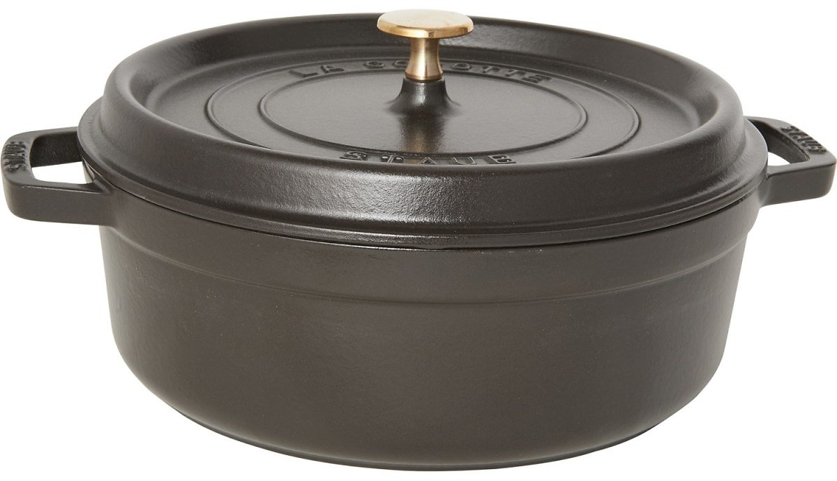 Staub Made in France Wide Round Dutch Oven - 4 Qt.