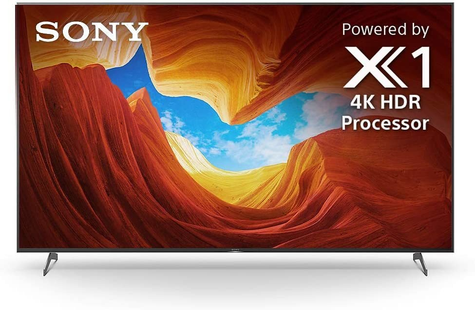 Sony X900H 85 Inch TV: 4K Ultra HD Smart LED TV with HDR, Game Mode for Gaming, and Alexa Compatibility - 2020 Model