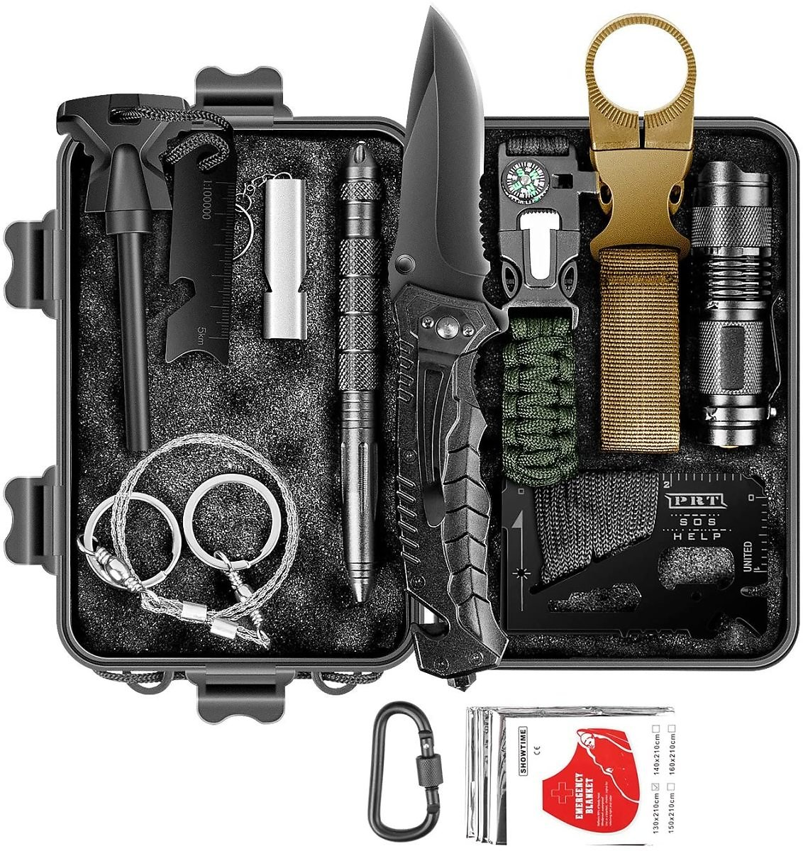 60% OFF 12 In 1 Survival Kit Only $ 18