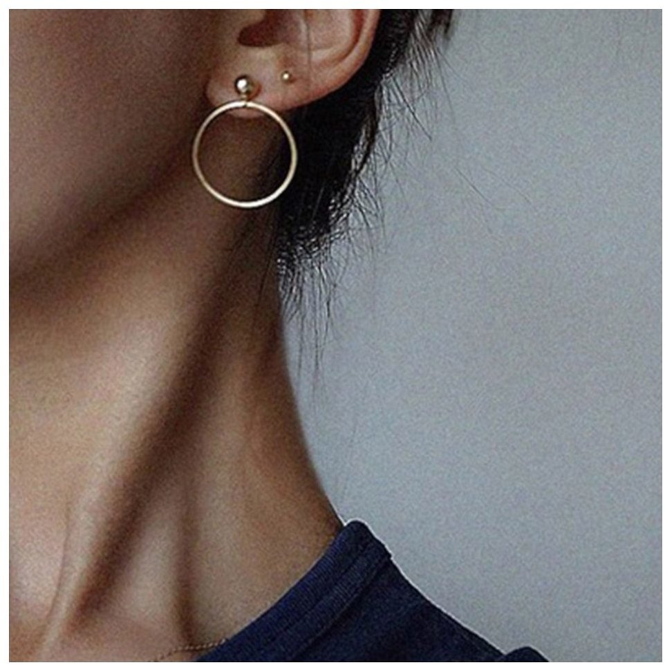 US $1.69 50% OFF|Fashion Small Metal Ball Drop Earrings Jewelry Punk Style Gold Sliver Color Round Circle Dangle Earrings Best Gift for Women|Drop Earrings| - AliExpress