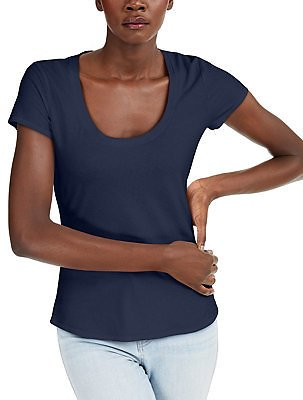 INC International Concepts INC The Basic Scoop T-Shirt, Created for Macy's & Reviews - Tops - Women