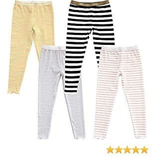 4-Pack Girls Leggings