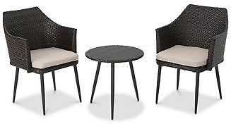 Noble House Leena 3-Pc. Outdoor Chat Set & Reviews - Furniture