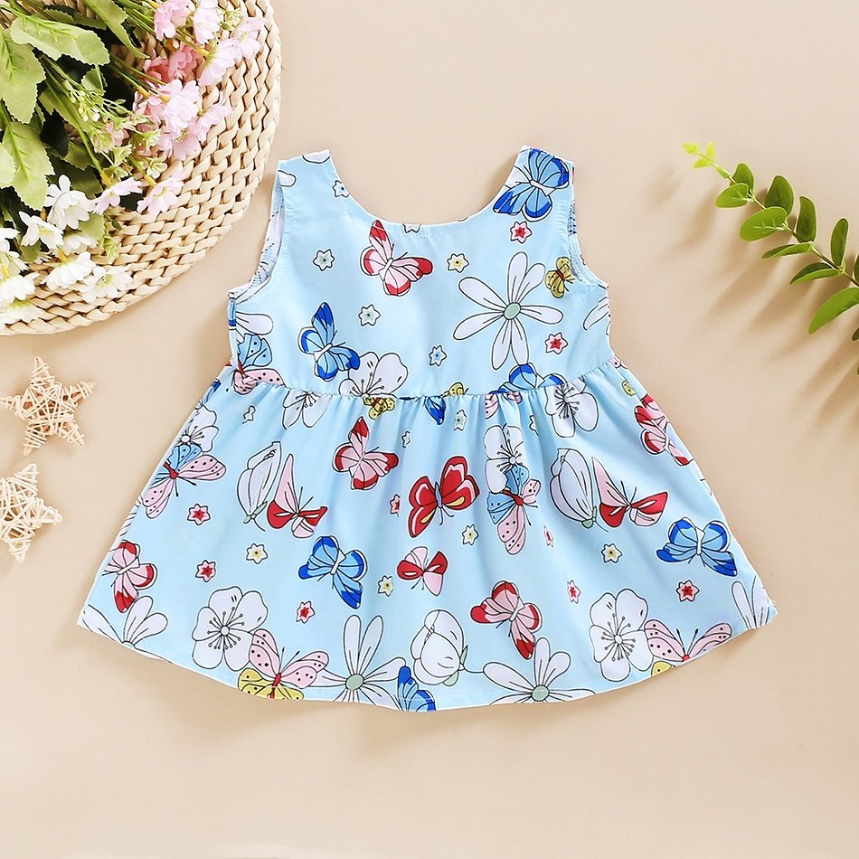 Baby Girl Floral Sweet Dress