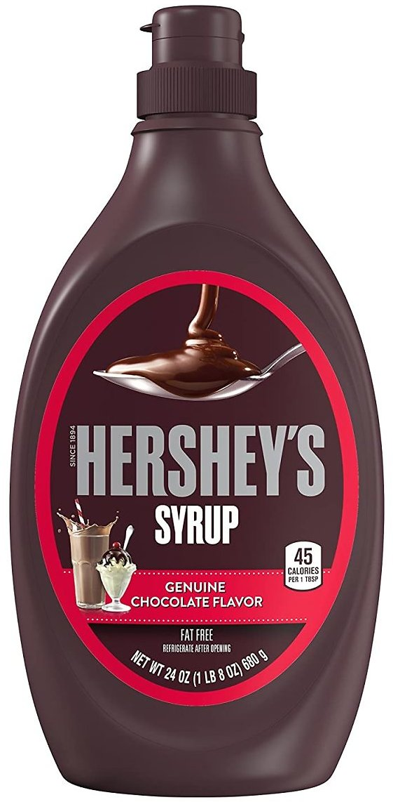 38% Discount - Hershey's Chocolate Syrup, 24 Ounce
