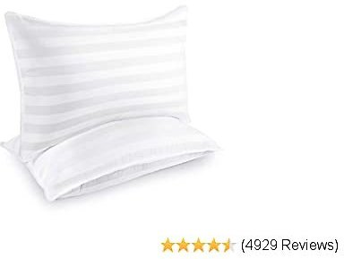 Hotel Collection Pillows for Sleeping (2-Pack)- Luxury Down Alternative Pillow