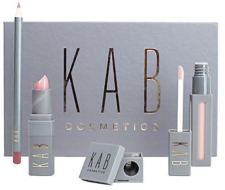 KAB Cosmetics Set of Four Lip Set - 9606633 | HSN