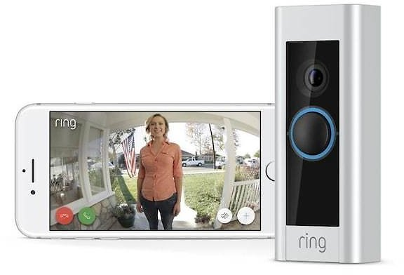 Ring Certified Refurbished Video Doorbell Pro Wired Wi-Fi Compatibility Smart Video Doorbell Camera Lowes.com