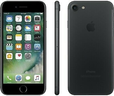 Apple IPhone 7 - 32GB - Black (Boost Mobile) A1660 (CDMA + GSM) 190198072214
