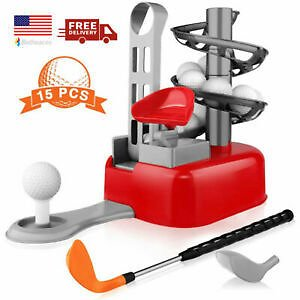 Educational Learning Kids Golf Toy Set Golf Sports Toys Age 3 4 5 6 7 Year Old