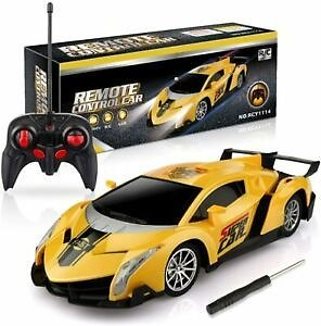 Remote Control Racing Car 1/18 Scale RC Car For Kids Age 4 5 6 7+ Years Old