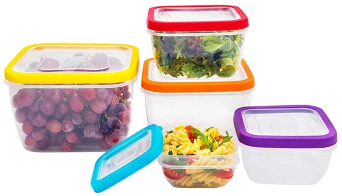 10 Piece Fresh Seal Vented Food Storage Container Set
