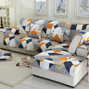 Sofa Cover Couch Protector Removable Quilted Couch Slipcover Non-slip