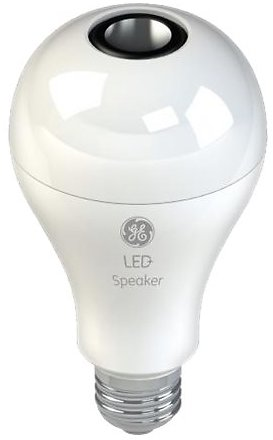 GE LED+ Speaker A21 Bluetooth Smart LED Bulb Soft White 93100352