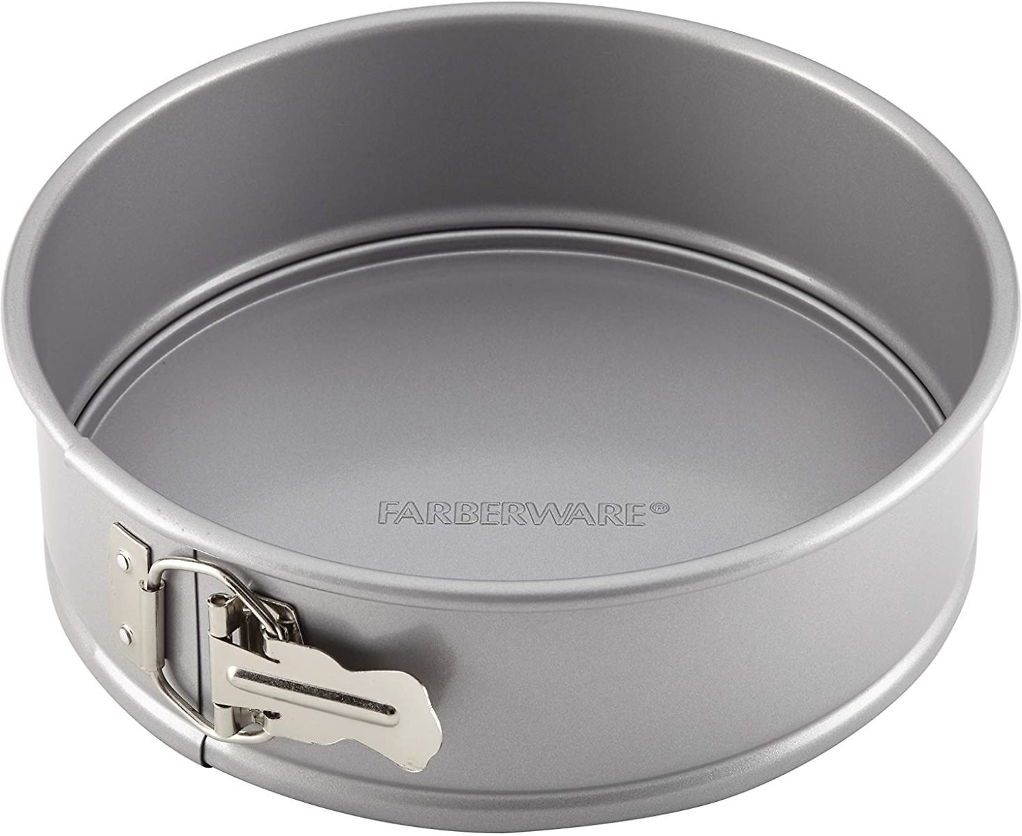 Farberware Nonstick Bakeware Nonstick Springform Baking Pan - 9 Inch, Gray
