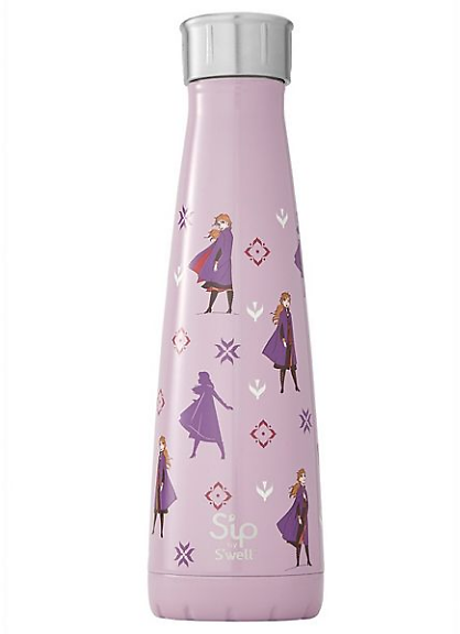 Disney's Frozen 2 Brave Princess Anna Water Bottle By S'ip By S'well