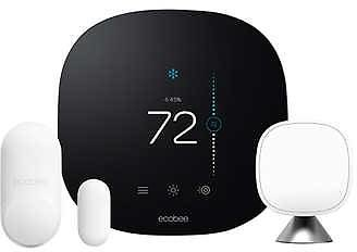 Ecobee Smart Thermostat with Whole Home Sensors