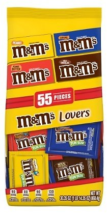 M&M's Lovers Mixed Fun Sized Stand Chocolate Cand$9.99