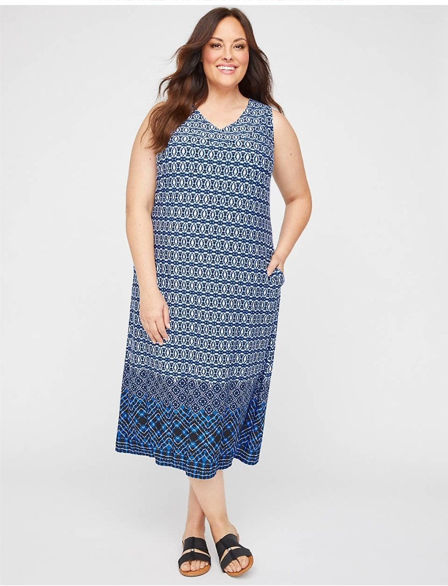 AnyWear Sonoma Midi Dress (With Pockets)