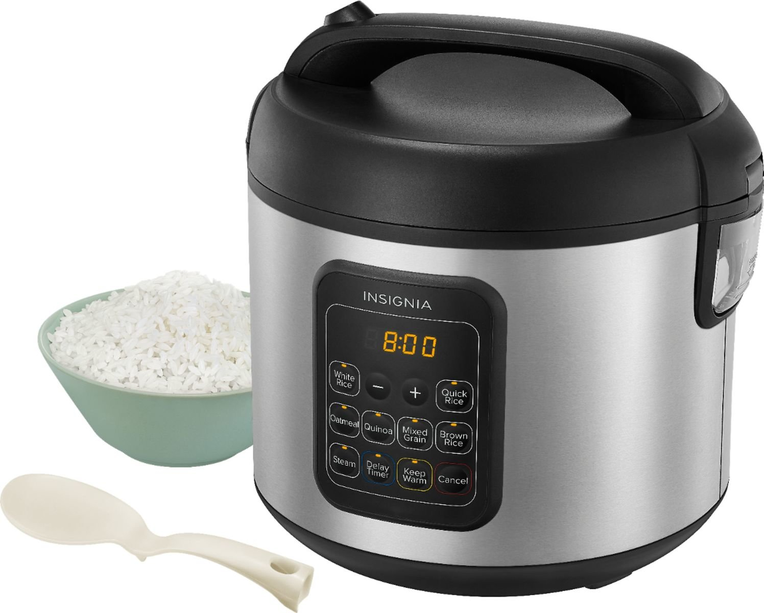 Insignia 20-Cup Rice Cooker & Steamer