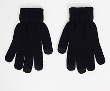 SVNX Touch Screen Gloves in Black | ASOS