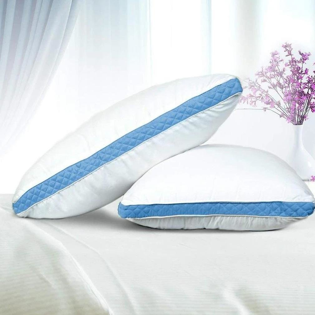 2-Pack: Premium Gusseted Pillows