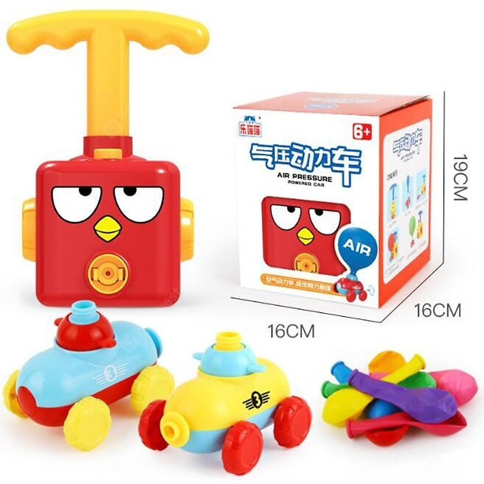 Balloon Car Toy Red Other Educational Toys Sale, Price & Reviews | Gearbest