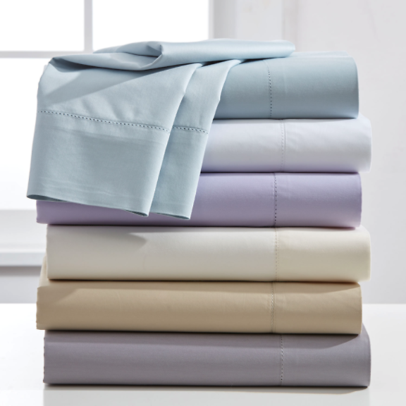 1200 Thread Count Hemstitched 6-Pc. Sheet Set